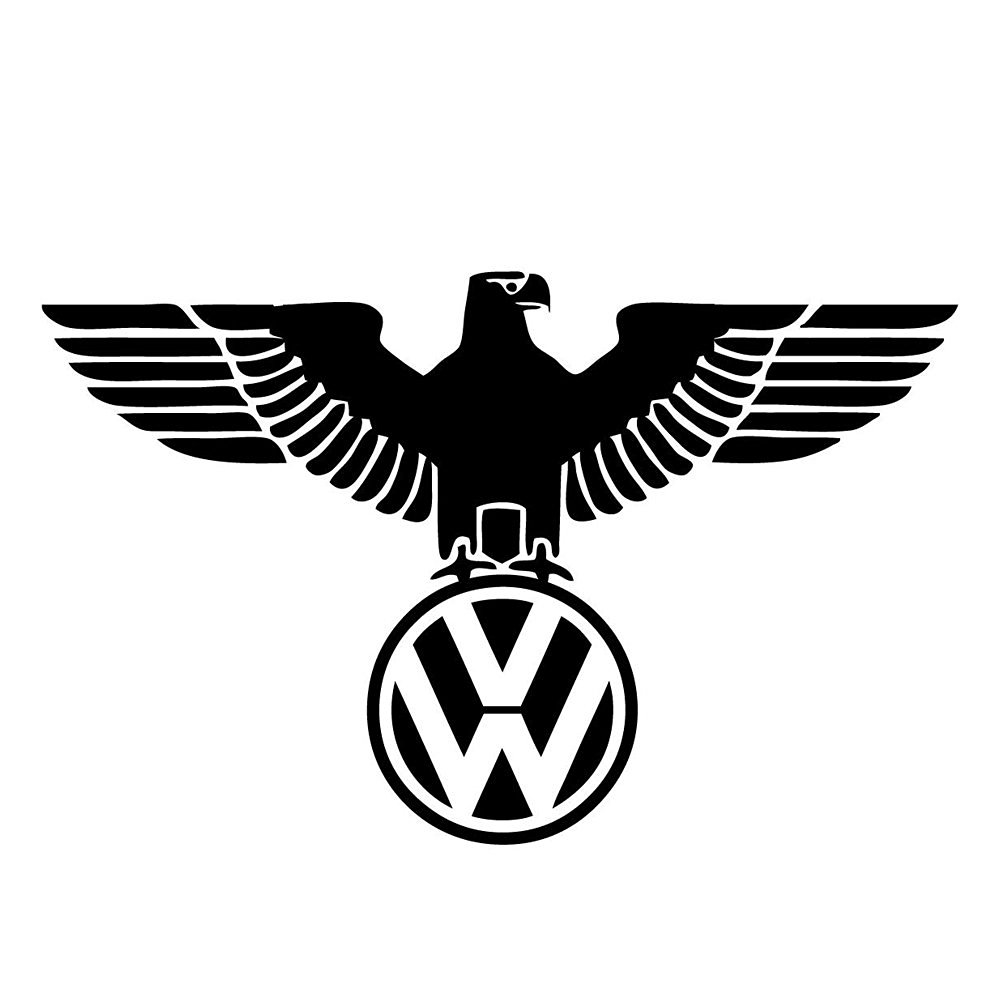 Volkswagon Eagle Sticker Decal Vinyl VW Golf GTI Jetta Bettle Passat EOS R32 CC BLACK  p 366 on volkswagen passat