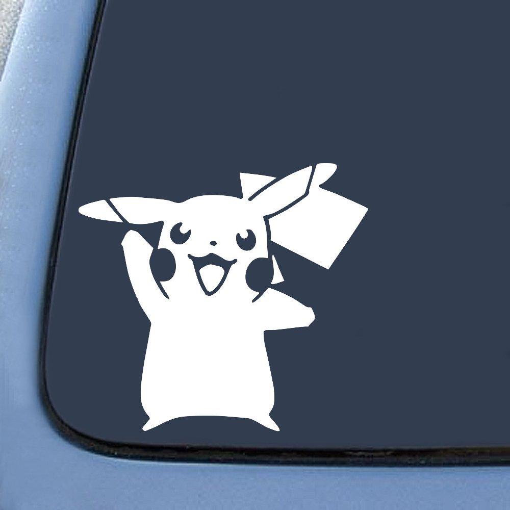BargainMax Pokemon Pikachu Card Game Sticker Decal Notebook Car Laptop 5.5