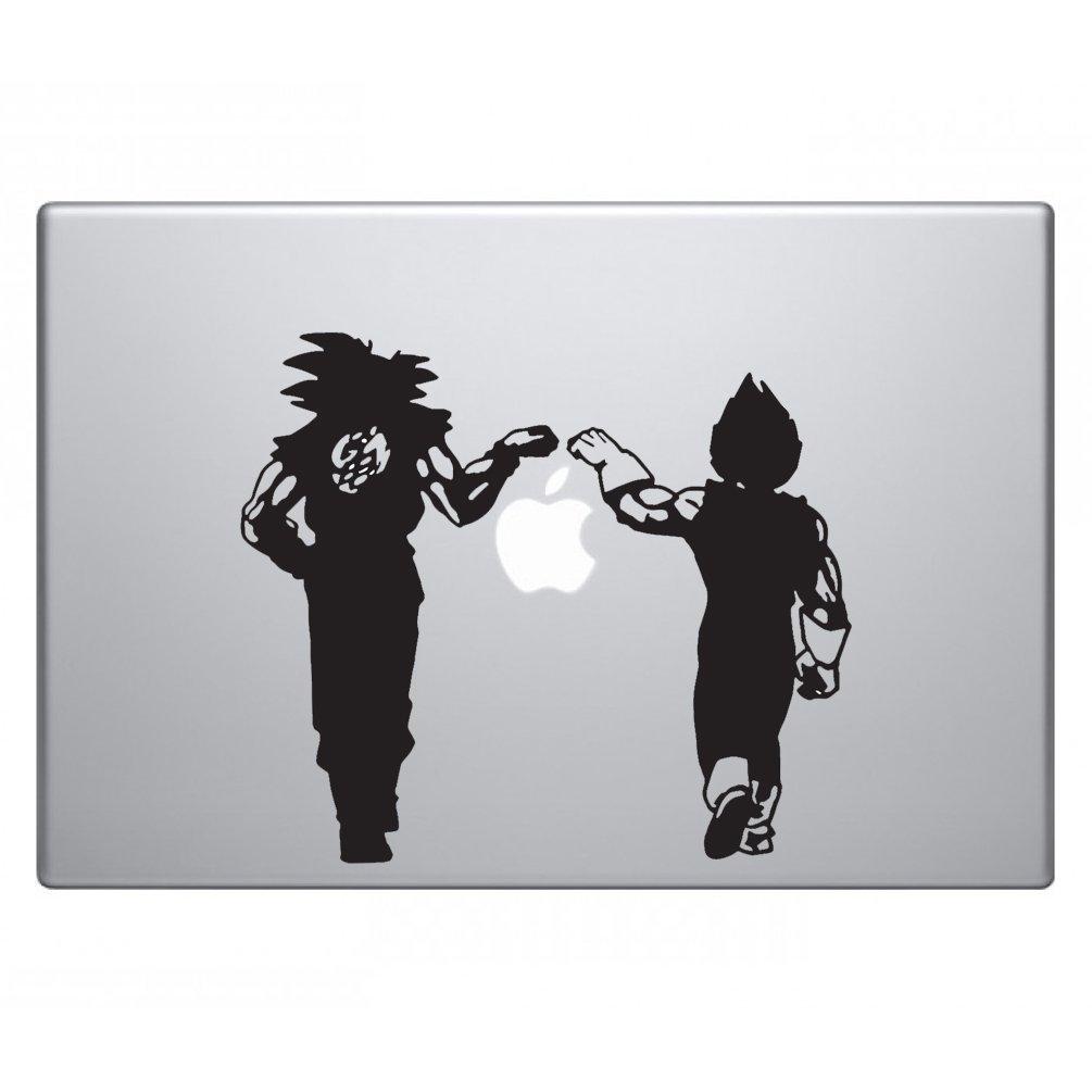 Bargainmax Dragon Ball Z Vegeta Amp Goku Fist Bump Sticker