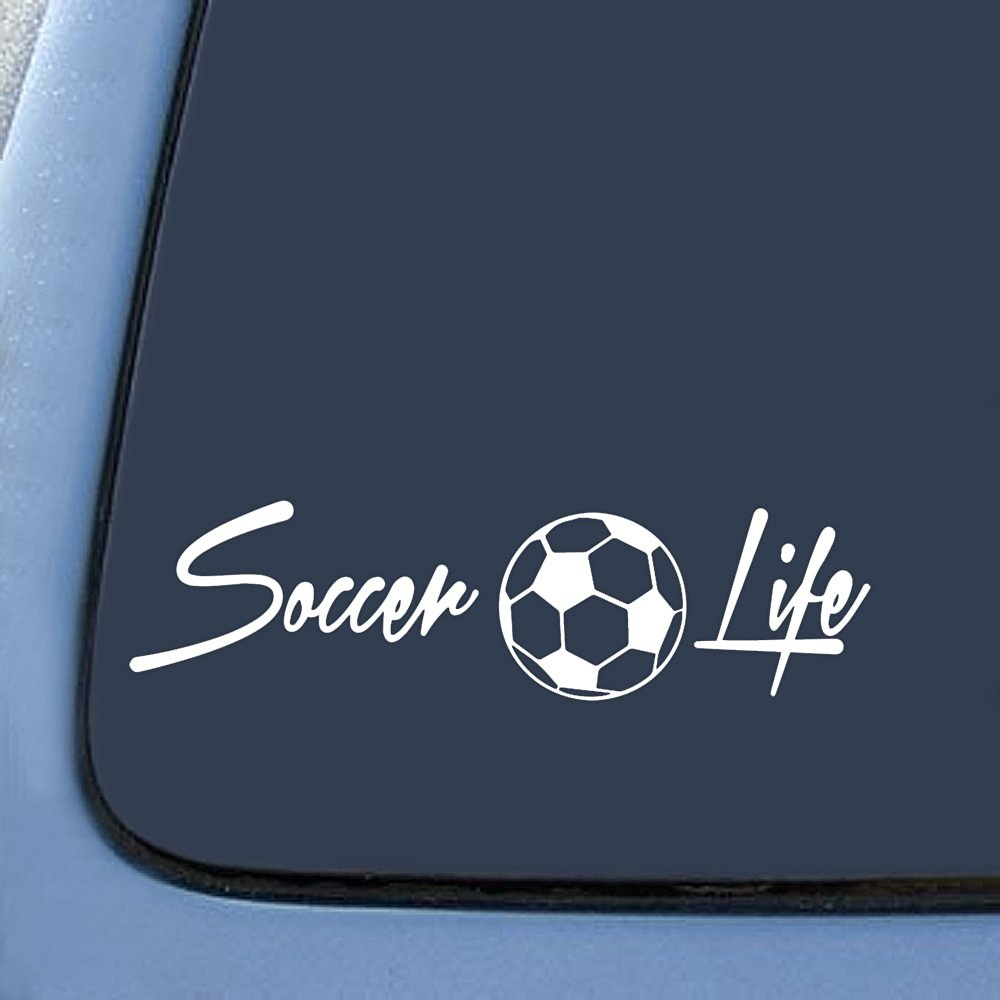 Bargainmax Soccer Life Family Sticker Decal Notebook Car