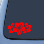 BargainMax Hibiscus Group Sticker Decal Notebook Car Laptop 8