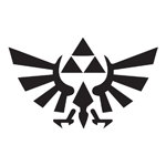 BargainMax TRIFORCE Logo Inspired by Legend of Zelda Sticker Decal Notebook Car Laptop 5.5