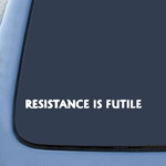 BargainMax RESISTANCE IS FUTILE Borg Star Trek Sticker Decal Notebook Car Laptop 8