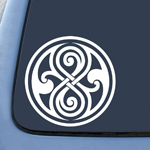 BargainMax Whovian Seal of Rassilon Sticker Decal Notebook Car Laptop 5.5