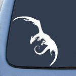 BargainMax LOTR Smaug Dragon Sticker Decal Notebook Car Laptop 5.5