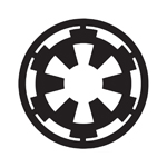 BargainMax Star Wars Galactic Empire Sticker Decal Notebook Car Laptop 5.5