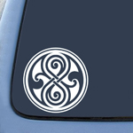 BargainMax Seal of Rassilon Dr. Who Inpsired Logo Sticker Decal Notebook Car Laptop 6