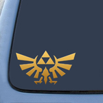 BargainMax TRIFORCE Logo Inspired by Legend of Zelda Sticker Decal Notebook Car Laptop 4