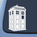 BargainMax Whovian Police Box Tardis Sticker Decal Notebook Car Laptop 8