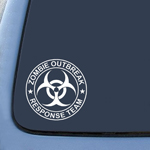 Bargain Max Zombie Outbreak Response Team Sticker Decal Notebook Car Laptop 5.5
