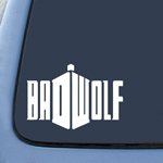 BargainMax Badwolf Doctor Who Sticker Decal Notebook Car Laptop 7