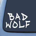 BargainMax Bad Wolf Graffiti Sticker Decal Notebook Car Laptop 5.5
