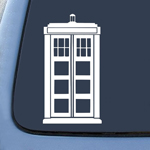 BargainMax Police Box Tardis Sticker Decal Notebook Car Laptop 8
