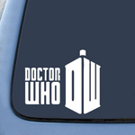 BargainMax DW Doctor Who Sticker Decal Notebook Car Laptop 6