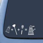 BargainMax Dalek Inspired Evolution Sticker Decal Notebook Car Laptop 8