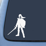BargainMax Link Shield and Sword Sticker Decal Notebook Car Laptop 5.5