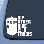 BargainMax My Other Ride is a Tardis Sticker Decal Notebook Car Laptop 5.5