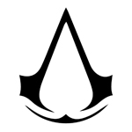 BargainMax Assassin's Creed Logo Sticker Decal Notebook Car Laptop 5.5