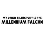 BargainMax My Other Transport is the Millennium Falcon Sticker Decal Notebook Car Laptop 8