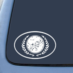 BargainMax Star Trek United Federation of Planets Sticker Decal Notebook Car Laptop 5.5
