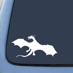 BargainMax Hobbit Smaug Dragon Sticker Decal Notebook Car Laptop 5.5