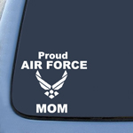 BargainMax Proud Air Force Mom Sticker Decal Notebook Car Laptop 8