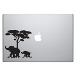BargainMax Mom and Baby Elephant Macbook Sticker Decal Notebook Car Laptop 5.5