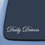 BargainMax Daily Driven Sticker Decal Notebook Car Laptop 8