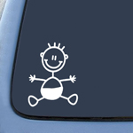 BargainMax My Family Baby Child Kid Sticker Decal Notebook Car Laptop 4