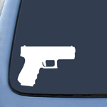 BargainMax Gun Pistol Rifle 2nd Amendment Sticker Decal Notebook Car Laptop 6