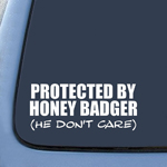 BargainMax Honey Badger He Don't Care Funny Sticker Decal Notebook Car Laptop 8