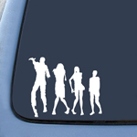 BargainMax Zombie Horse Family Sticker Decal Notebook Car Laptop 6