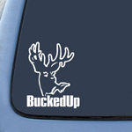 BargainMax BuckedUp! Hunting Sticker Decal Notebook Car Laptop 6