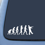 BargainMax Zombie Evolution Sticker Decal Notebook Car Laptop 8