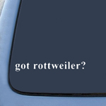 BargainMax got Rottweiler? Sticker Decal Notebook Car Laptop 8