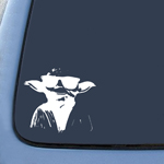 BargainMax Yoda Cool Sticker Decal Notebook Car Laptop 6