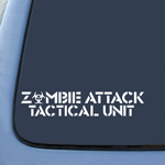 BargainMax ZOMBIE ATTACK TACTICAL UNIT Sticker Decal Notebook Car Laptop 8