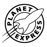 BargainMax Futurama PLANET EXPRESS Sticker Decal Notebook Car Laptop 6