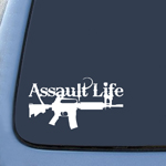 BargainMax Assault Life Sticker Decal Notebook Car Laptop 6