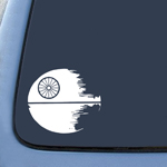 BargainMax Death Star Wars Inspired Design Sticker Decal Notebook Car Laptop 6
