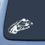 BargainMax Star Wars Millennium Falcon Sticker Decal Notebook Car Laptop 6