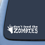BargainMax Don't feed the zombies Sticker Decal Notebook Car Laptop 6