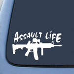 BargainMax Assault Life Sticker Decal Notebook Car Laptop 8