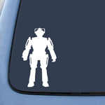 BargainMax Cybermen - Image 1 - Doctor Who - White - Vinyl Decal