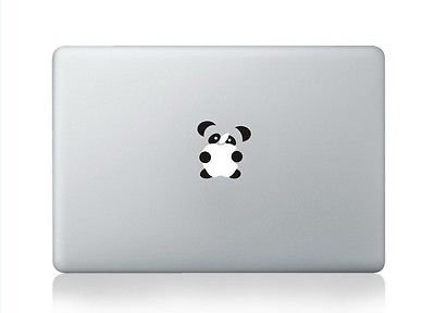 5.5-Inches Wide Premium Quality Black Vinyl Decal NI696 Cute Panda Decal