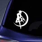 Bargain Max Decals - Sailor Moon Serena - Sticker Decal Notebook Car Laptop 4