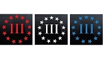 CMI448 3-Pack (Red, White, & Blue) 3
