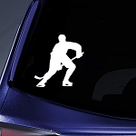 Skating Sport - Car, Truck, Notebook, Vinyl Decal Sticker Vinyl Color: White