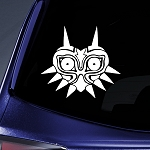 BargainMax Majora's Mask Sticker Decal Notebook Car Laptop 5.5